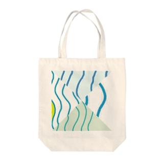 波 Tote bags