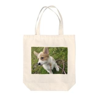 コーギー(メルト)グッズ Tote bags