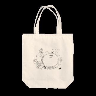 conbanwa_のハハハ Tote bags