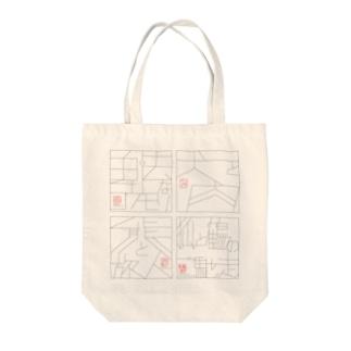 イソップ寓話 Tote bags