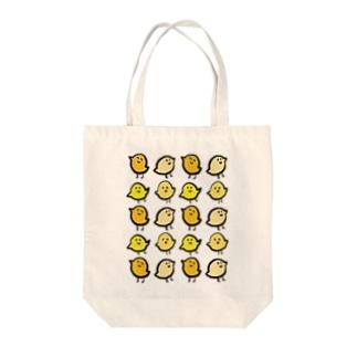 ぴよまつり Tote bags