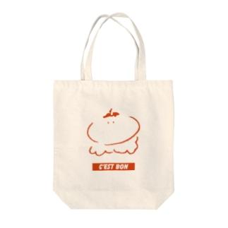 トマトの精 Tote bags
