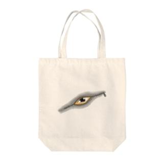 ジッ〜 Tote bags