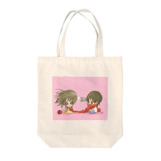 相思相愛 Tote bags