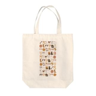 わんわん🐾たくさん🐾 Tote bags