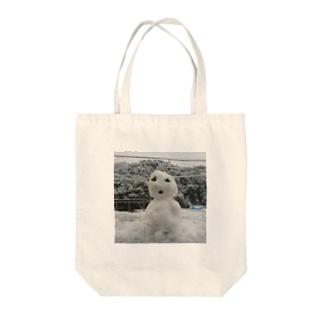 雪だるま⛄ Tote bags