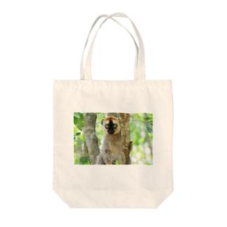 lemurちゃん。 Tote bags