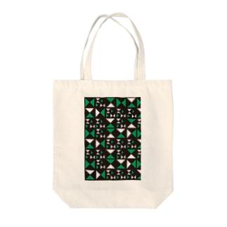 さんかくさん Tote bags