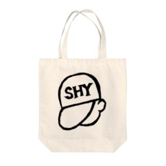 SHY_boy Tote bags