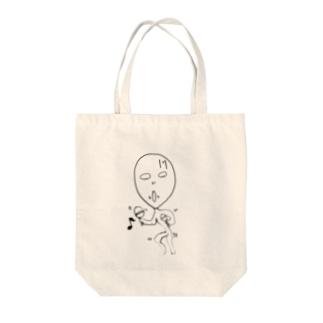 マラカスオーオーオー Tote bags