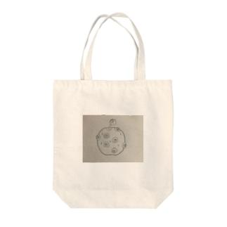 毒リンゴ Tote bags