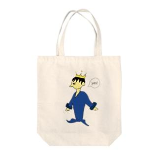 王子さま Tote bags