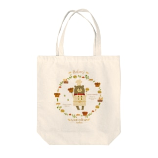 Happy Bakery Tote bags
