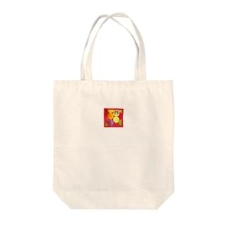 カラフルライフ Tote bags