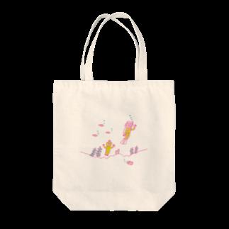 のり norikosatoの半魚人とダイバー Tote bags