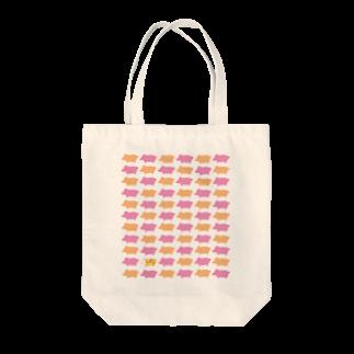 のり norikosatoのブタとブイ Tote bags