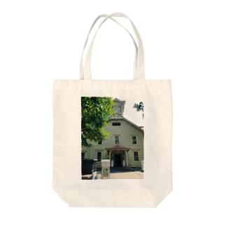 北海道時計台 Tote bags