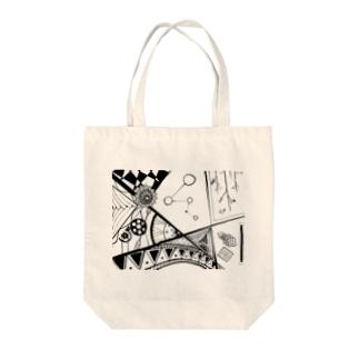 がちゃがちゃ Tote bags