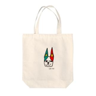 みみ猫 Tote bags