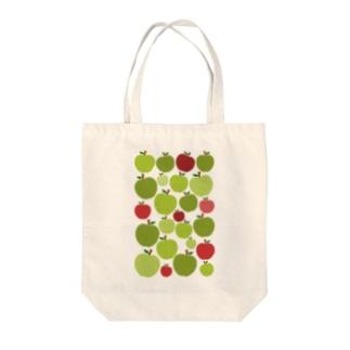 青リンゴ Tote bags