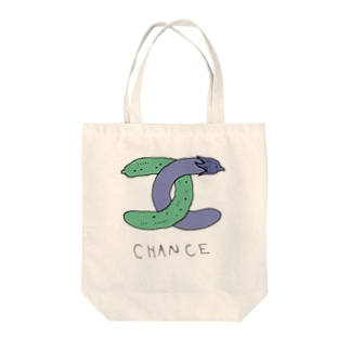 CHANCE Tote bags