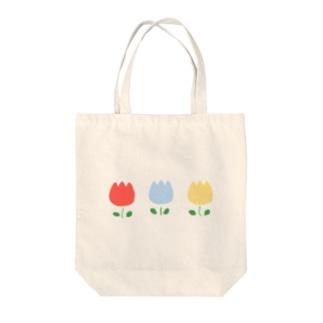 信号チューリップ Tote bags