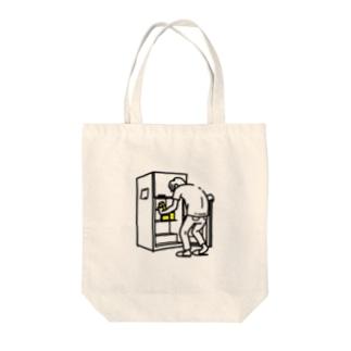 冷蔵庫 Tote bags