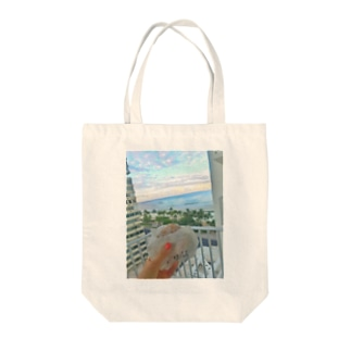 マラサダとワイキキビーチ Tote bags