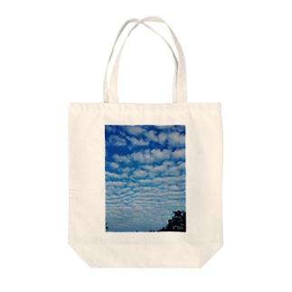 秋空 Tote bags