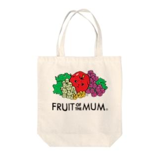 Fruit of the Mum Tote bags