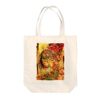 I want to be a flower. Tote bags