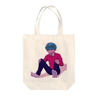 ダイタンニムクチ Tote bags