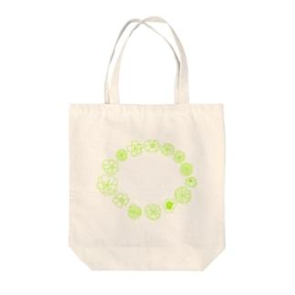 blossomy Tote bags