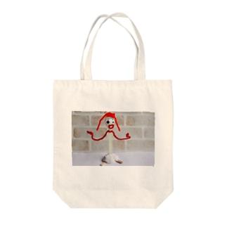 フォーキー風の人形 Tote bags
