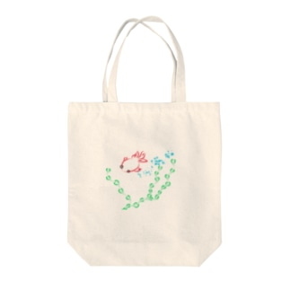 金魚と水草 Tote bags