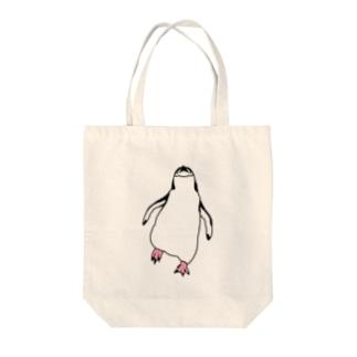アゴヒモペンギン Tote bags