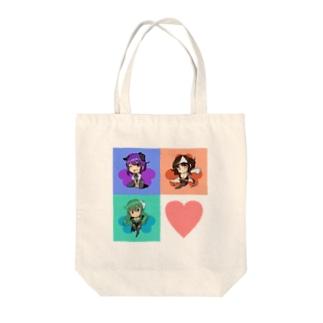 キュウリーズエンジェル Tote bags
