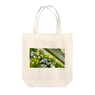 あじさい@実写 Tote bags