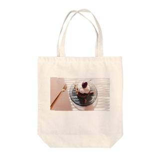 baked,プルーンとくるみのカップケーキ Tote bags