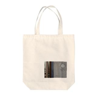 LOVE CON Tote bags