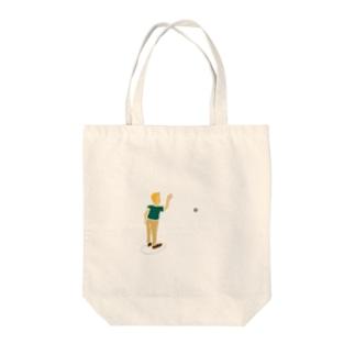 ペタンクボーイ Tote bags