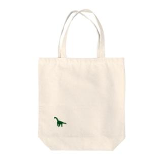 ものくろ~むのかまらさうるす(恐竜シリーズNo2・ワンポイント) Tote bags