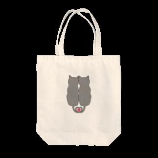 あおのLove cat Tote bags