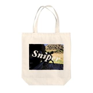 Sniper Tote bags