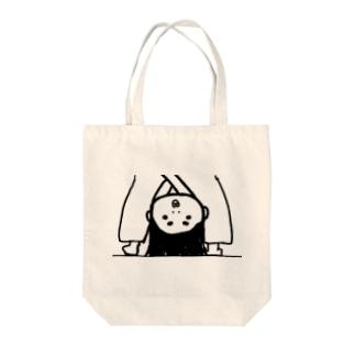 逆立ち納言 Tote bags