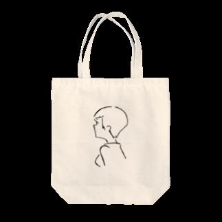 吉本ユキのガールフレンドショートヘア Tote bags