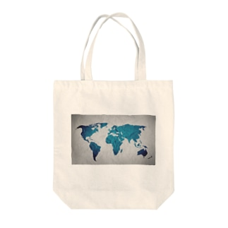氷と水の世界地図 Tote bags