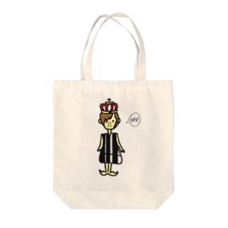 王女さま Tote bags