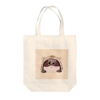 虎クラーク(ミニ) Tote bags