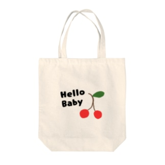 HelloBaby🍒 Tote bags